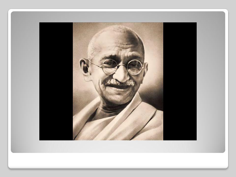 ΜΑΧΑΤΜΑ ΓΚΑΝΤΙ Γεννήθηκε στις 2 Οκτωβρίου 1869 σε μία μικρή πόλη στη δυτική ακτή της Ινδίας. Ήταν Ινδός πολιτικός και αποτέλεσε την κεντρική μορφή του