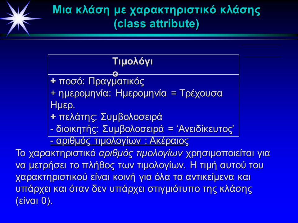 Τιμολόγιο Τιμολόγιο + ποσό: Πραγματικός + ημερομηνία: Ημερομηνία=Τρέχουσα + πελάτης : Συμβολοσειρά - διοικητής:Συμβολοσειρά='Ανειδίκευτος' Το σύμβολο
