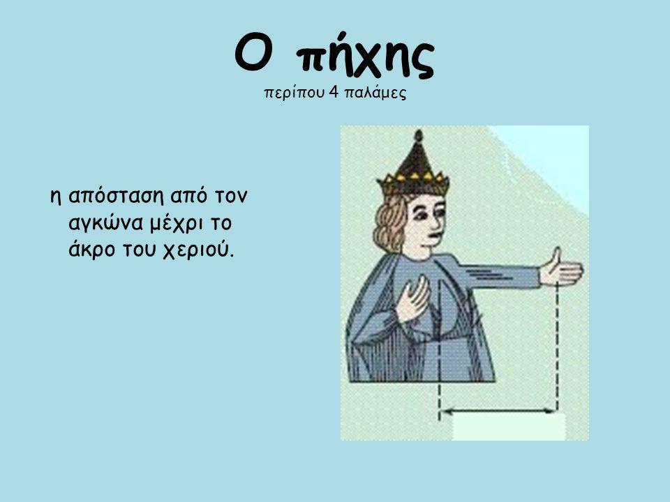 Το μπόι Ισούται με το μέσο όρο του κανονικού ύψους ενός ανθρώπου, δηλαδή περίπου 1,70 μέτρα.