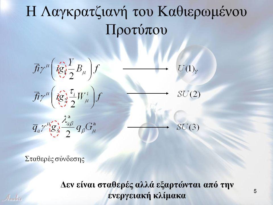 16 Οι συναρτήσεις Green είναι αναλλοίωτες κάτω από μετασχηματισμούς του μ Ομάδα Επανακανονικοποίησης (R.G) και συνάρτηση βήτα της φ 4 Μια σταθερά ανακανονικοποίησης Ανακανονικοποιημένη συνάρτηση που εξαρτάται από τα μ, g Β (μ), m Β (μ) όπου Εξίσωση Ομάδας Επανακανονικοποίησης όπου Αποδεικνύεται αντίστοιχα και για αλλαγές στην ενεργειακή κλίμακα