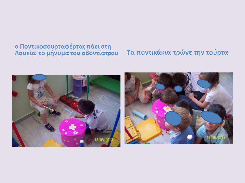 ο Ποντικοσουρταφέρτας πάει στη Λουκία το μήνυμα του οδοντίατρου Τα ποντικάκια τρώνε την τούρτα