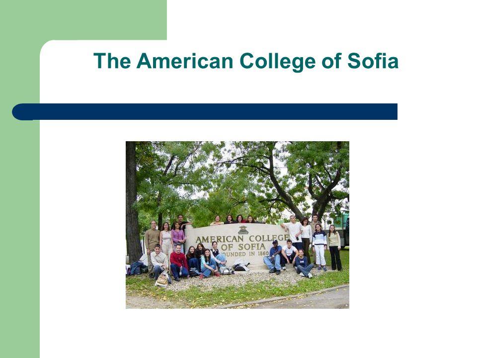 The American College of Sofia