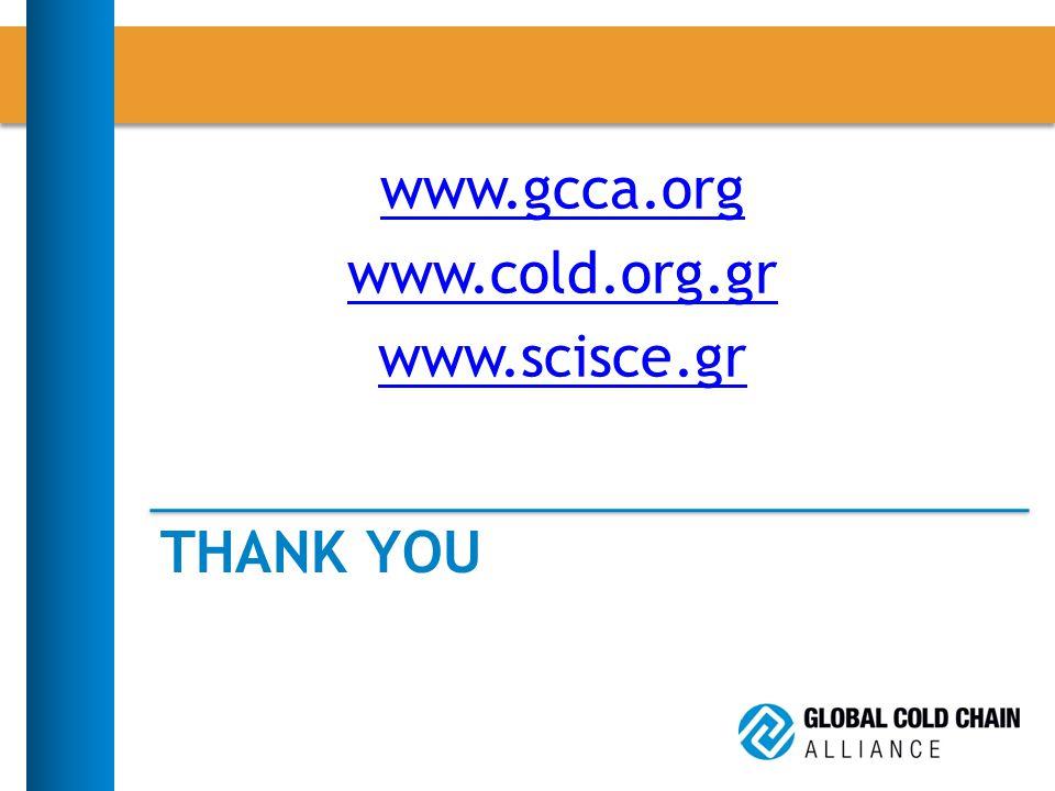 THANK YOU www.gcca.org www.cold.org.gr www.scisce.gr