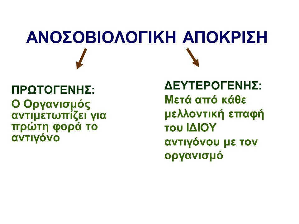 ΣΤΑΔΙΑ ΠΡΩΤΟΓΕΝΟΥΣ ΑΠΟΚΡΙΣΗΣ ΣΤΑΔΙΟ 1 Ο : Ενεργοποίηση των βοηθητικών Τ- Λεμφοκυττάρων.