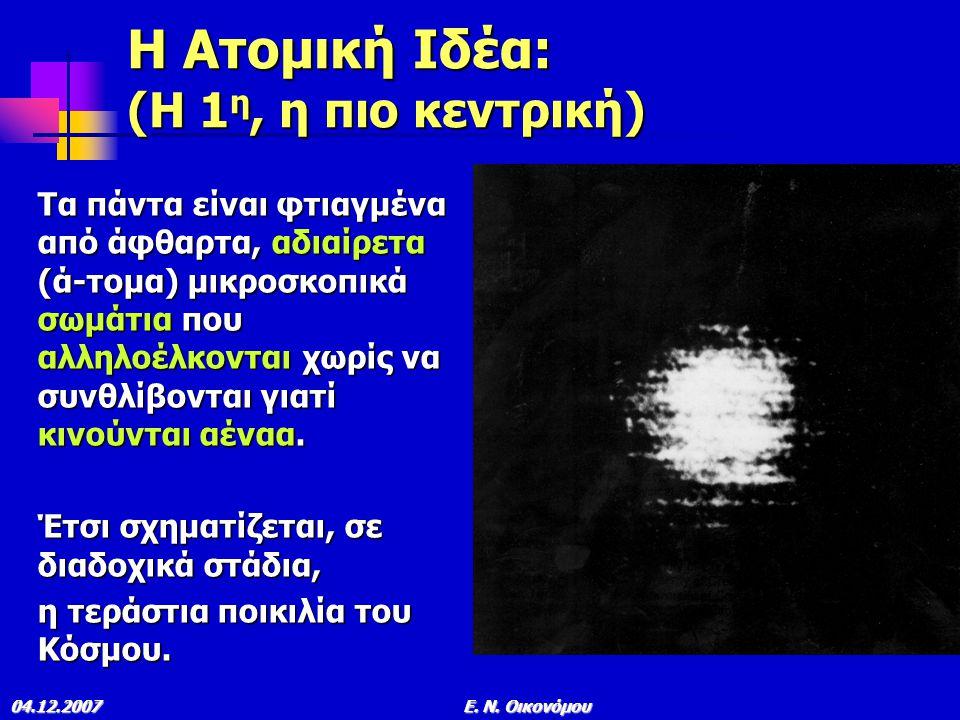 04.12.2007E. N. Οικονόμου ΟΡΑΤΟ ΣΥΜΠΑΝ ΙV για δις έτη όταν, αντί