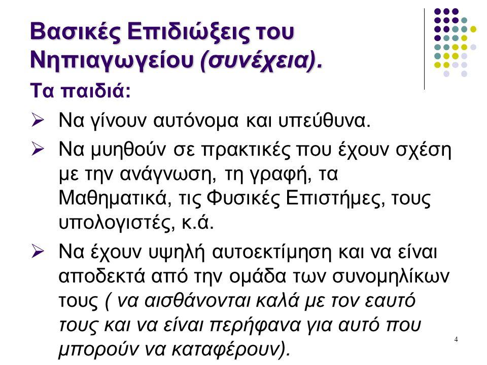 35 Αξιολόγηση Νηπίου: Ατομικός Φάκελος Νηπίου.