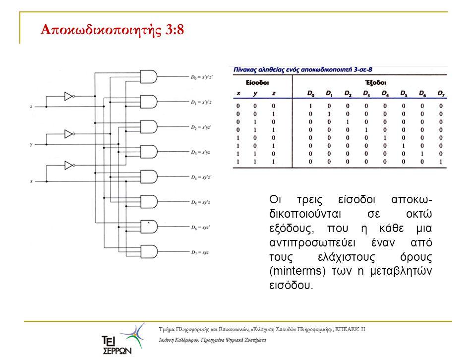 Το ολοκληρωμένο κύκλωμα 74LS139 - Βασική λειτουργία Το 74LS139 είναι ένας δυαδικός αποκωδικοποιητής με δύο εισόδους, τέσσερις εξόδους και μία είσοδο ενεργοποίησης.