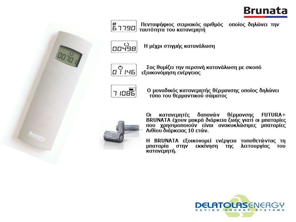 Ο ένας από τους αισθητήρες του μετράει τη θερμοκρασία στην επιφάνεια των θερμαντικών σωμάτων κι ο άλλος τη θερμοκρασία δωματίου. Η διαφορά θερμοκρασία