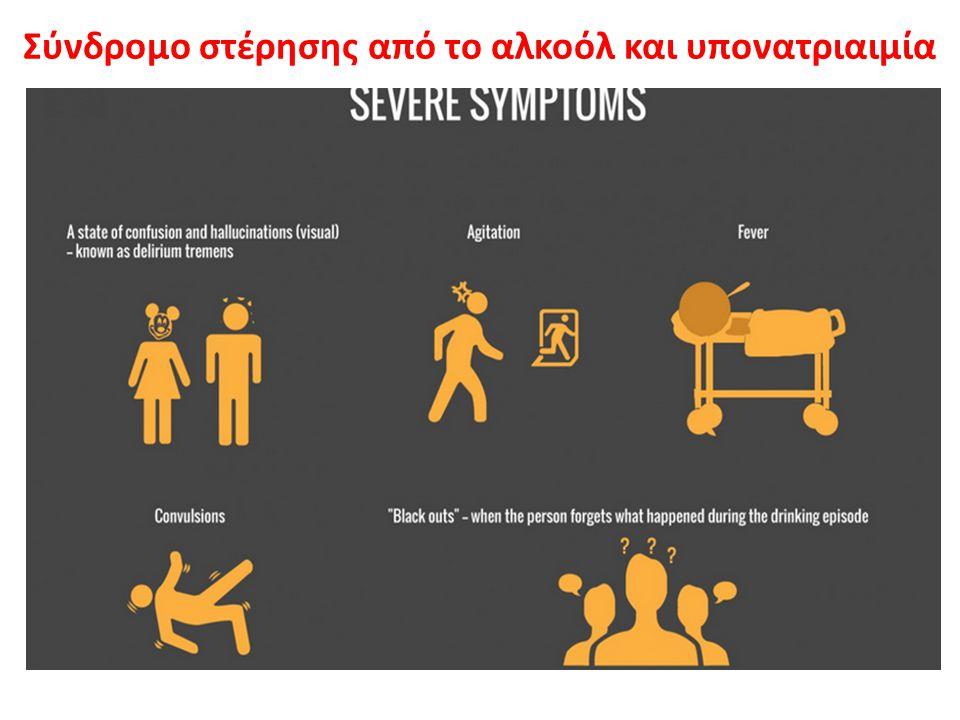 Σύνδρομο στέρησης από το αλκοόλ και υπονατριαιμία