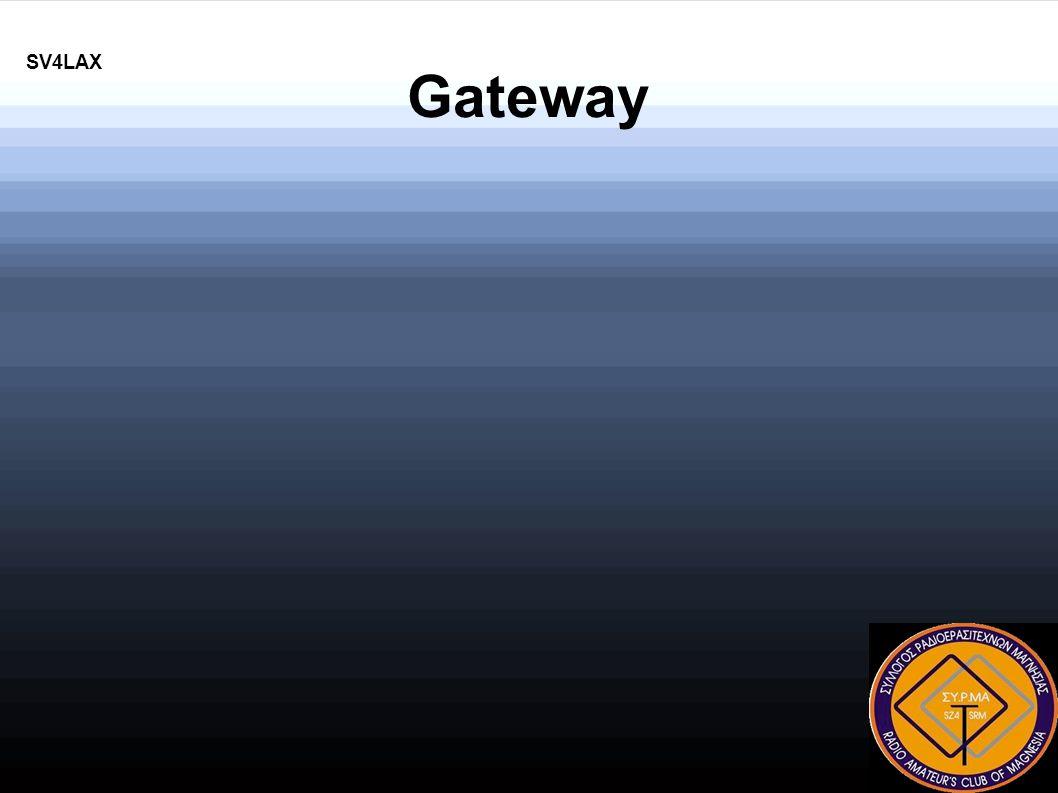 SV4LAX Gateway