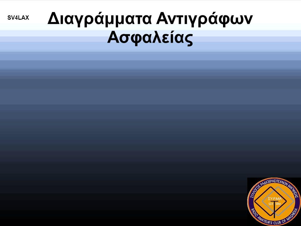 Διαγράμματα Αντιγράφων Ασφαλείας SV4LAX