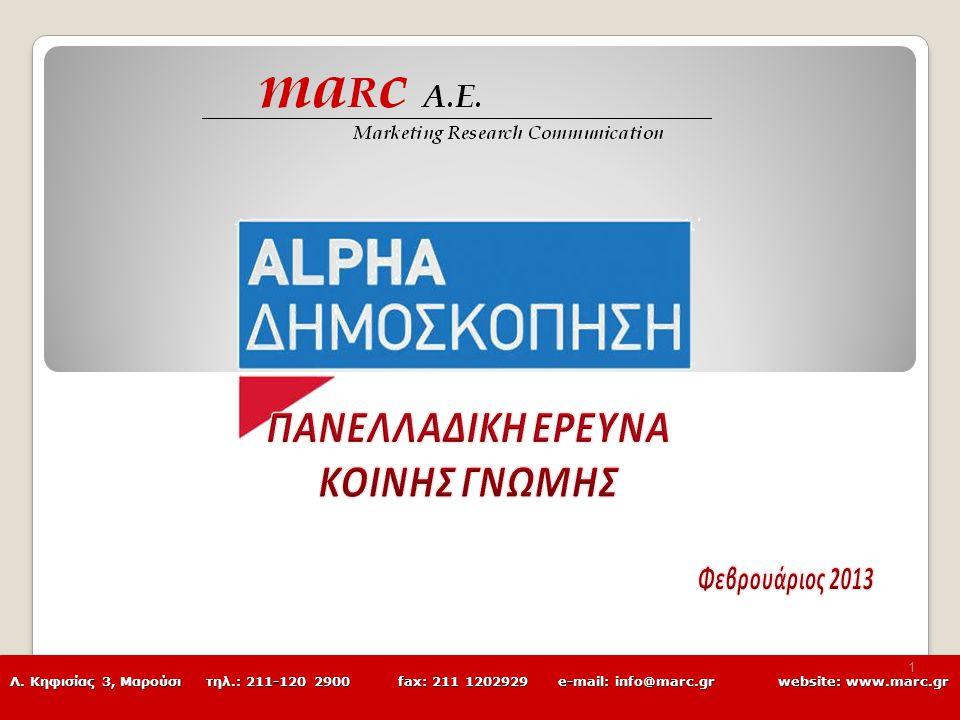 Λ. Κηφισίας 3, Μαρούσι τηλ.: 211-120 2900 fax: 211 1202929 e-mail: info@marc.grwebsite: www.marc.gr 1