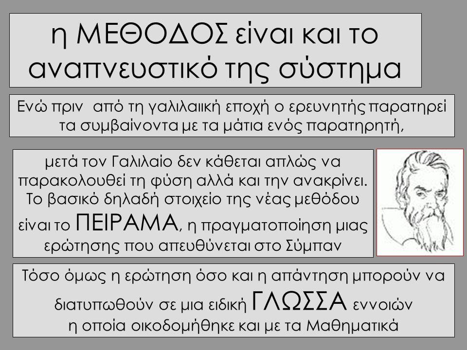 Το «να μυηθεί» κάποιος στη Φυσική σημαίνει πριν απόλα «να δημιουργήσει ΔΟΜΕΣ »