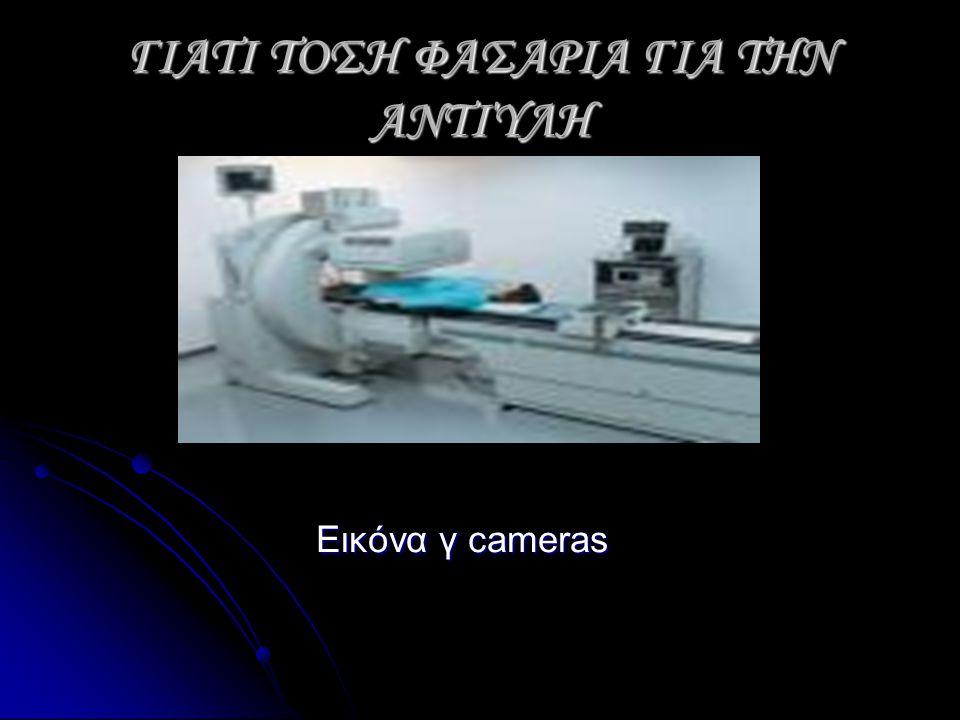 ΓΙΑΤΙ ΤΟΣΗ ΦΑΣΑΡΙΑ ΓΙΑ ΤΗΝ ΑΝΤΙΎΛΗ Εικόνα γ cameras