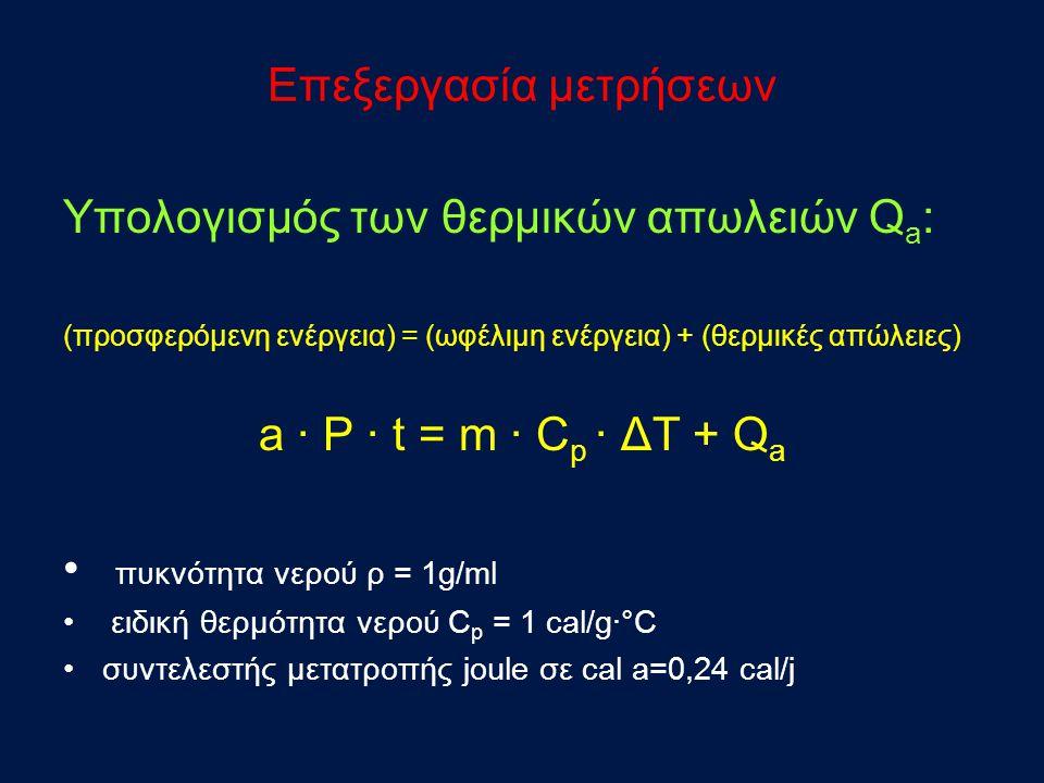 Στην (6) την μέση ταχύτητα υ 1 καθόδου της στάθμης στο κυλινδρικό δοχείο.