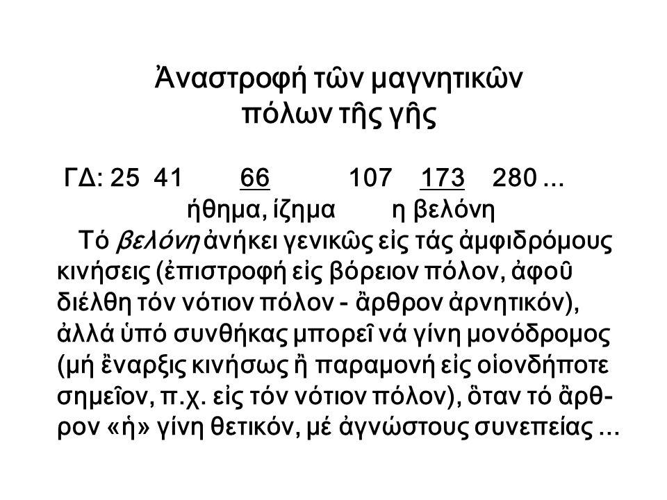 Ἡ ὁμοιότης ὓλης καί ἐνεργείας Τό γενεαλογικόν δένδρον (ΓΔ) τῆς λέξεως εἶδος (289): [ενέργεια (179), είδος (289), υλική (468)] Πόρισμα: > Αἱ ἒννοιαι ἐνέργεια καί ὑλική (ὃ,τι ἀνή- κει εἰς τήν ὓλην) εἶναι ὃμοιαι, διαλεκτικαί, ἡ μία εἶναι συνέχεια τῆς ἂλλης.