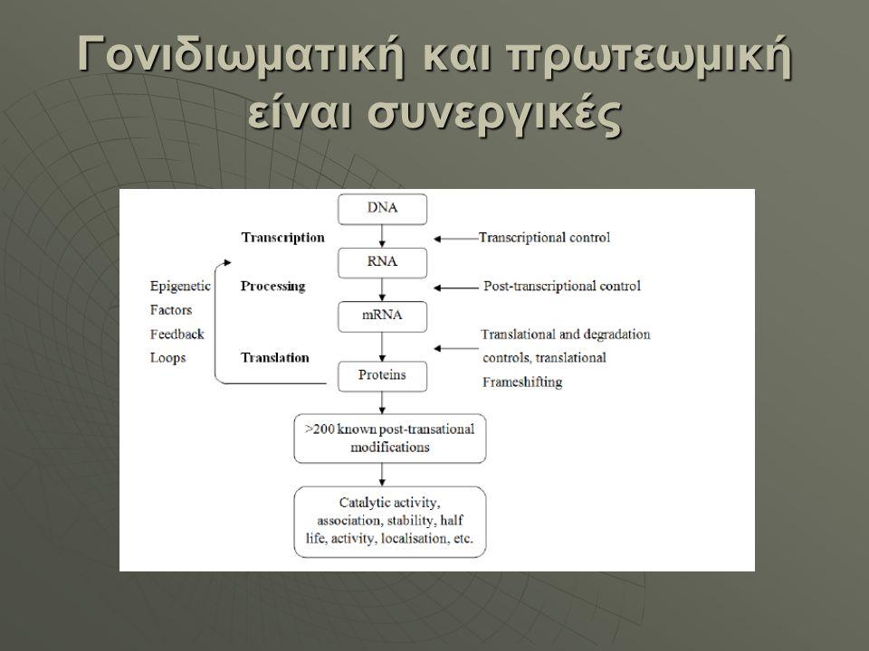 Γονιδιωματική και πρωτεωμική είναι συνεργικές