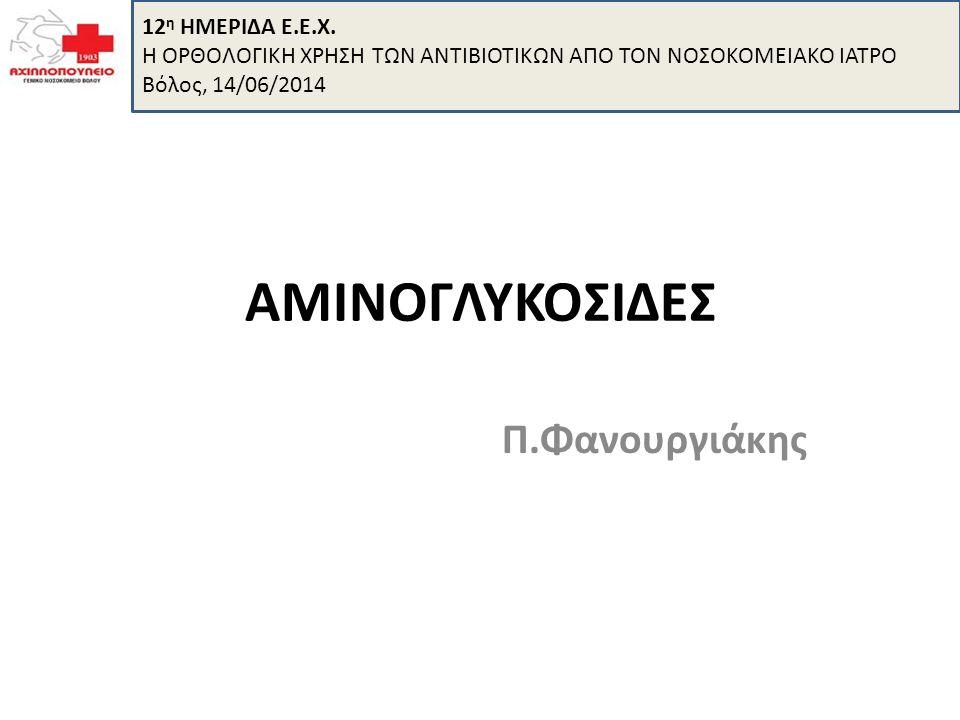 Ποιες είναι-ποιες κυκλοφορούν Στρεπτομυκίνη (1943), νεομυκίνη, καναμυκίνη, τομπραμυκίνη και παρομομυκίνη (Streptomyces).