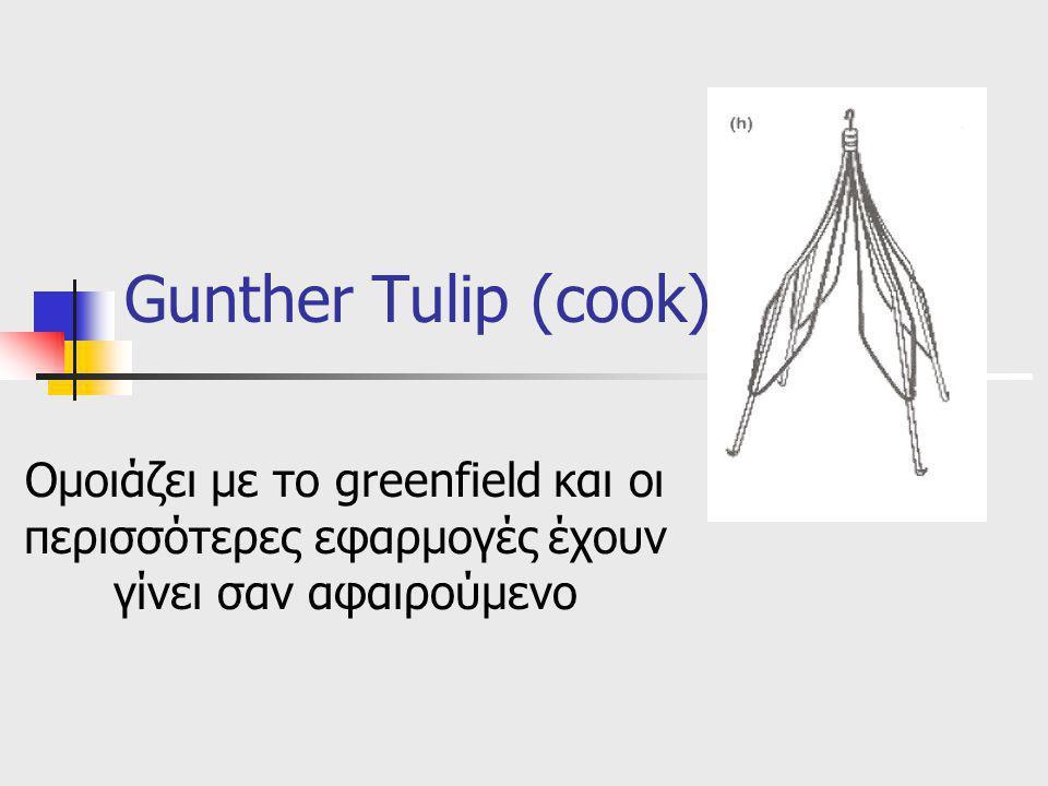 Gunther Tulip (cook) Ομοιάζει με το greenfield και οι περισσότερες εφαρμογές έχουν γίνει σαν αφαιρούμενο