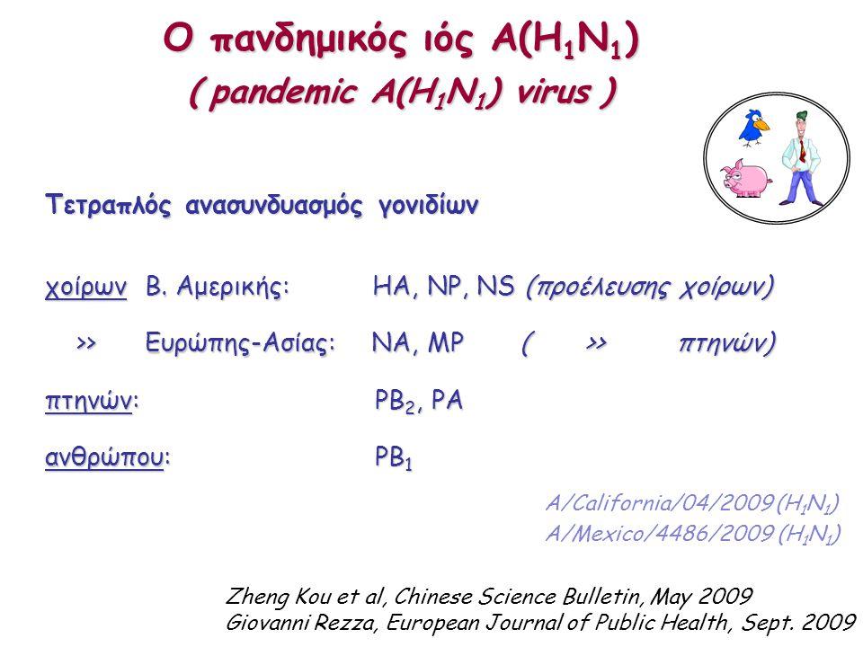 Τετραπλός ανασυνδυασμός γονιδίων χοίρων Β.