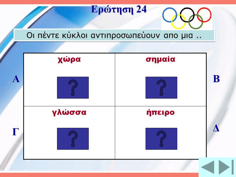 Μορφή των Ολυμπιακών αγώνων του 1896 ήταν ο μαραθωνοδρόμος...