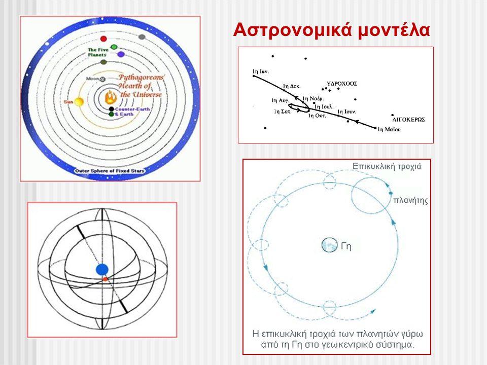 Αστρονομικά μοντέλα