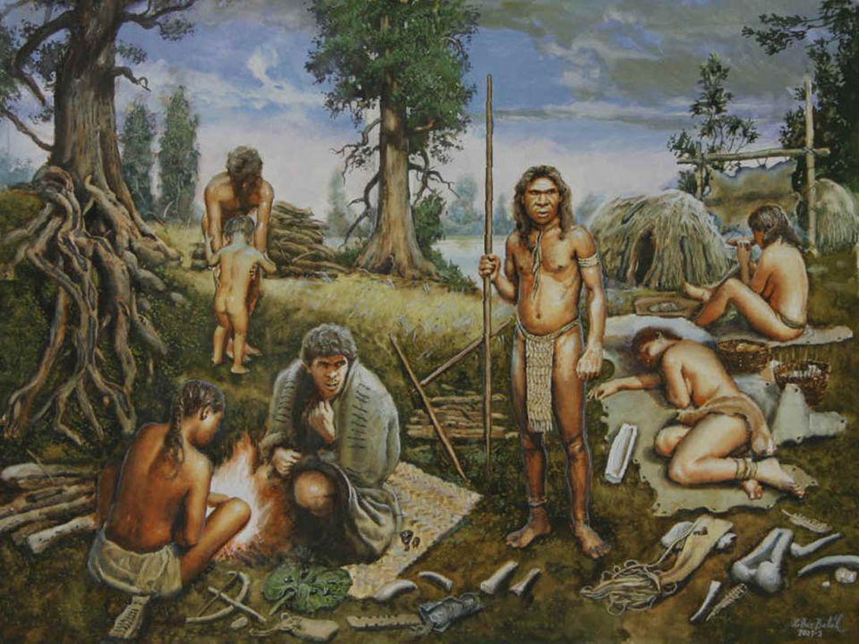 Νεολιθική περίοδος (6800-3200 π.Χ.) – πρώτοι οικισμοί Κύρια Χαρακτηριστικά : Τροφοπαραγωγοί (γεωργία- κτηνοτροφία) Μόνιμη κατοικία –σχηματισμοί οικισμών Κατοικίες από ξύλα, δέρματα, κλαδιά Θολωτές κατοικίες από πέτρες Μεγαλιθικά οικοδομήματα από τεράστιους ογκολίθους