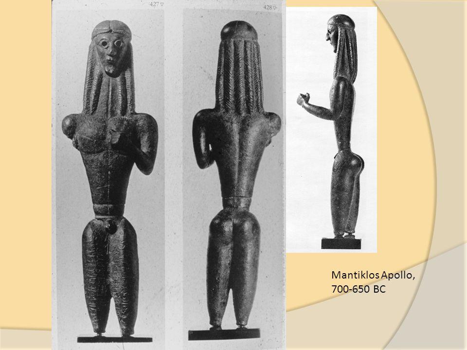Mantiklos Apollo, 700-650 BC