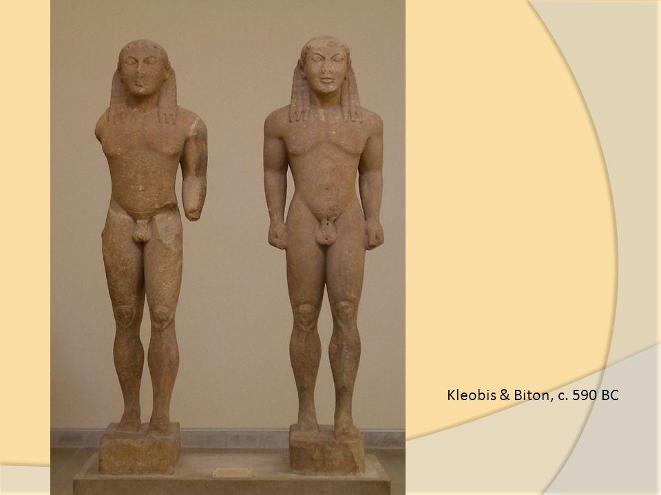 Kleobis & Biton, c. 590 BC