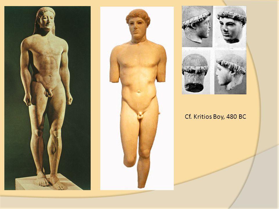 Cf. Kritios Boy, 480 BC