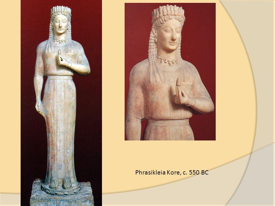 Phrasikleia Kore, c. 550 BC