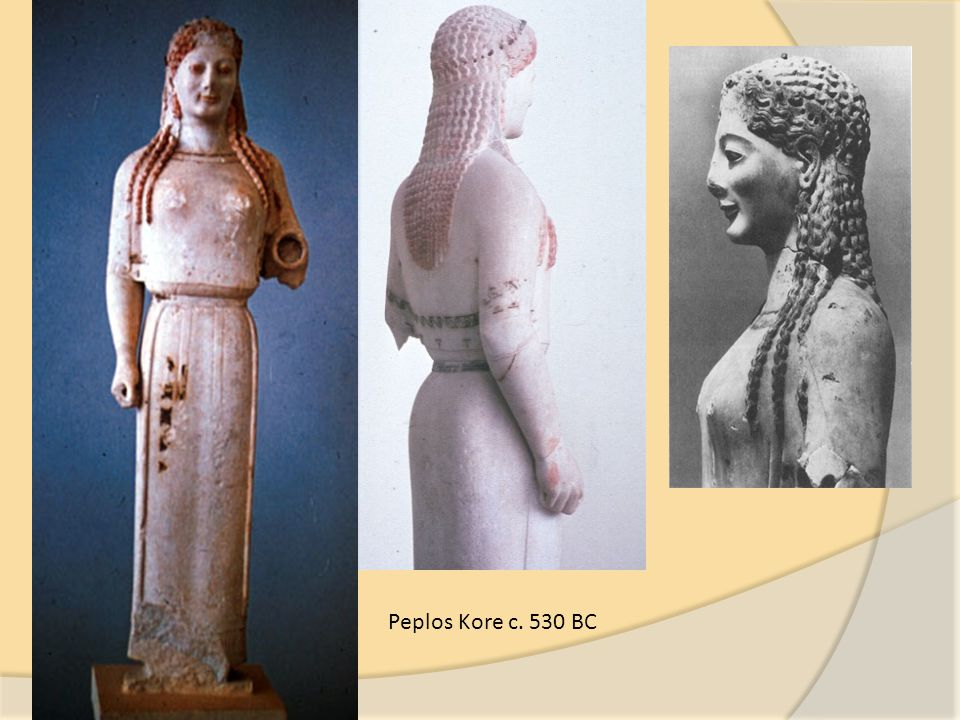 Peplos Kore c. 530 BC