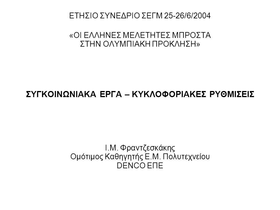 10.4Παραλιακή Λεωφόρος Ποσειδώνος, Τμήμα Αγ.Κοσμάς- Ελληνικό 11.97 εκ.