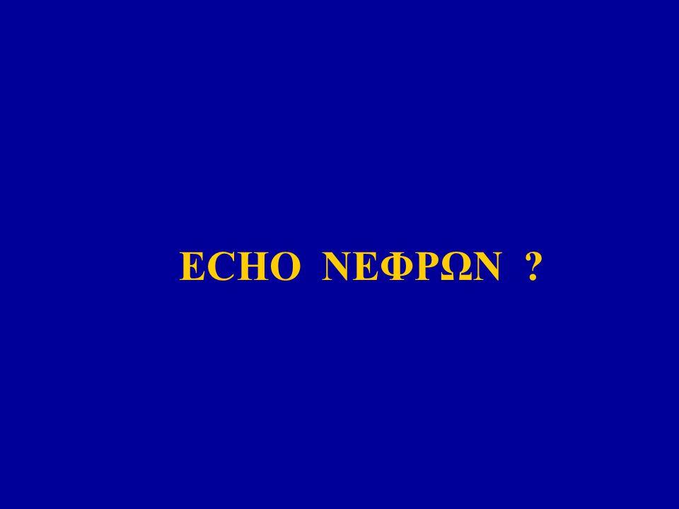 ECHO ΝΕΦΡΩΝ ?
