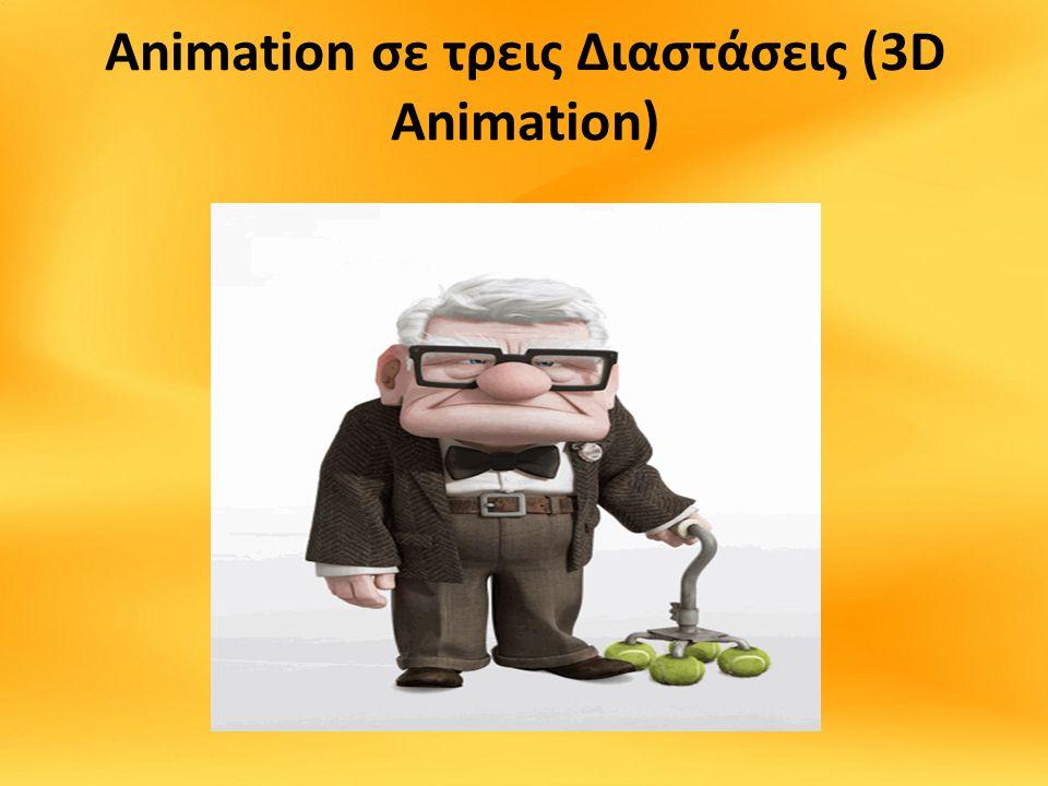 Animation σε τρεις Διαστάσεις (3D Animation)