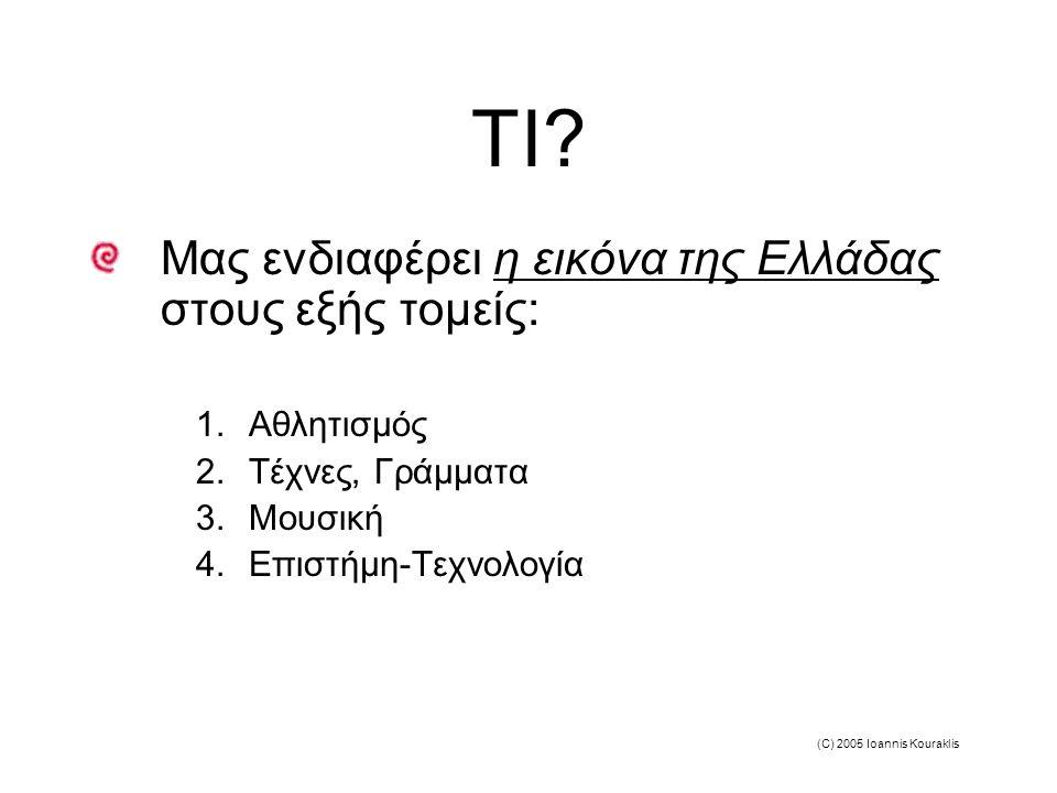 (C) 2005 Ioannis Kouraklis TI.
