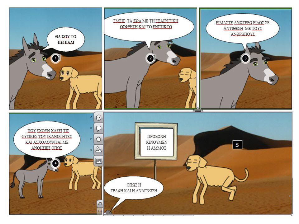 Λογισμικό επικοινωνίας web 2.0 Πως λειτουργεί το wiki http://supportyoungedu.wikispaces.com/ Ποιο comic θα διαλέξουμε, τι θα βάλουμε στην ιστορία μας.