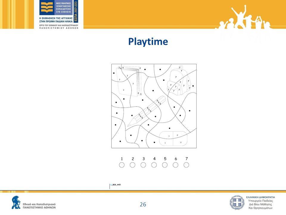 Playtime 26