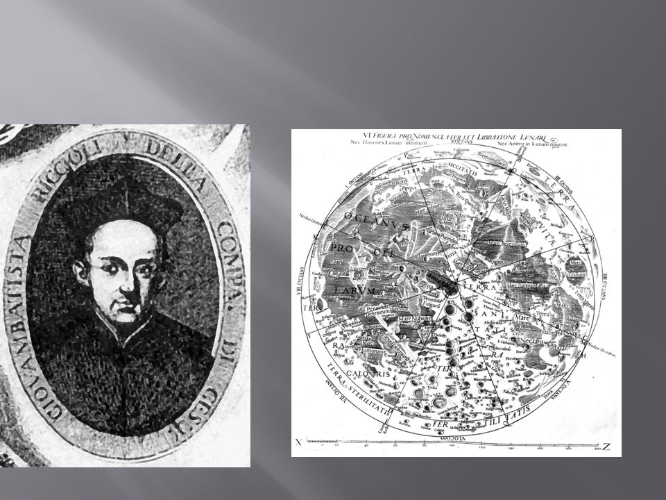 Ο Giovanni Battista Riccioli (1598-1671).Ιησουίτης καθολικός ιερέας και αστρονόμος.