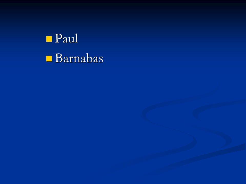 Barnabas Barnabas