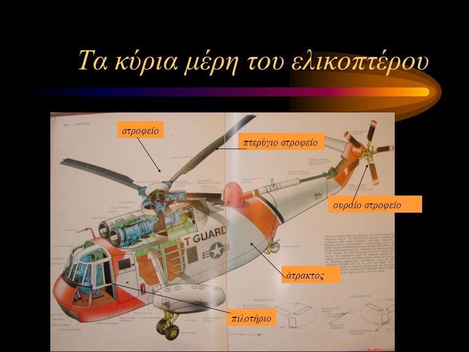 Χρησιμότητα Σε τι μας χρησιμεύει τελικά το ελικόπτερο;