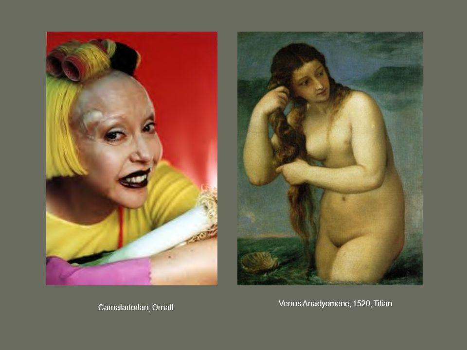 Venus Anadyomene, 1520, Titian Carnalartorlan, Ornall