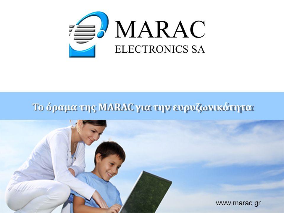Παρουσίαση: ………………………….. ………….@marac.gr www.marac.gr Το όραμα της MARAC για την ευρυζωνικότητα www.marac.gr