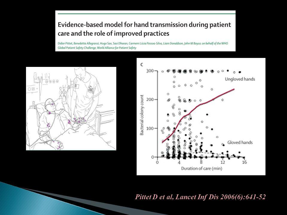 Pittet D et al, Lancet Inf Dis 2006(6):641-52