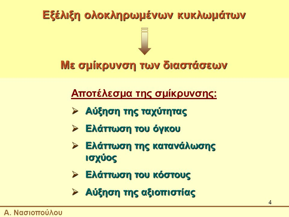 5 MOORE'S LAW Α. Νασιοπούλου