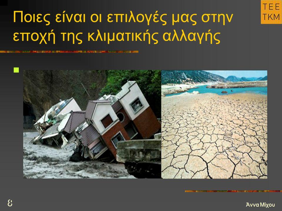 Άννα Μίχου 8 Ποιες είναι οι επιλογές μας στην εποχή της κλιματικής αλλαγής 8