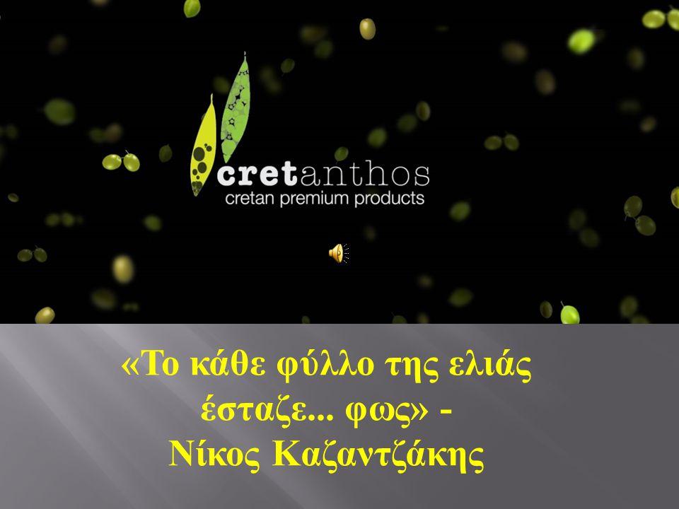 « Το κάθε φύλλο της ελιάς έσταζε... φως » - Νίκος Καζαντζάκης