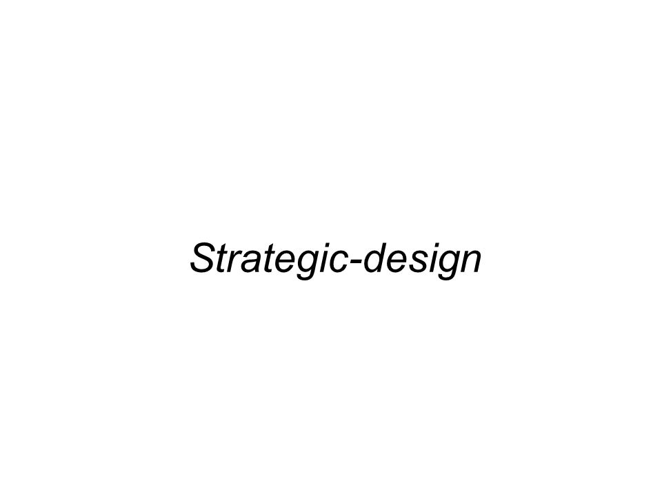 Strategic-design