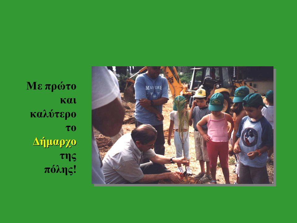 Το Άλσος της πόλης μας 5 Ιουνίου, Στις 5 Ιουνίου, Παγκόσμια ημέρα του Περιβάλλοντος, όλα τα Μέγαρα σηκώσαμε όλα τα Μέγαρα στο πόδι.