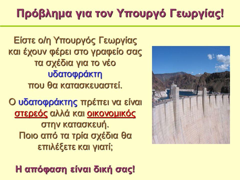 Πρόβλημα για τον Υπουργό Γεωργίας.
